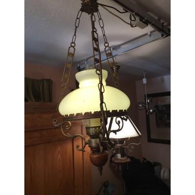 Deckenlampe Petroleum