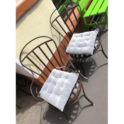 Gartenstühle aus Gusseisen - Frankreich Usine Carré