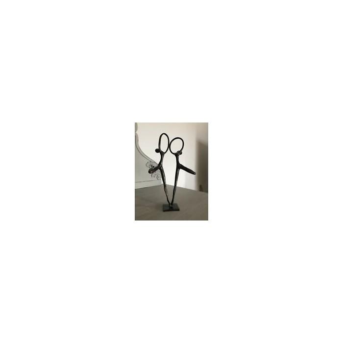 Bronzefigur Jugendstil tanzende Figuren