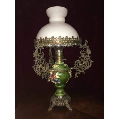 Jugendstil - Lampe - elektrisch & Petroleum
