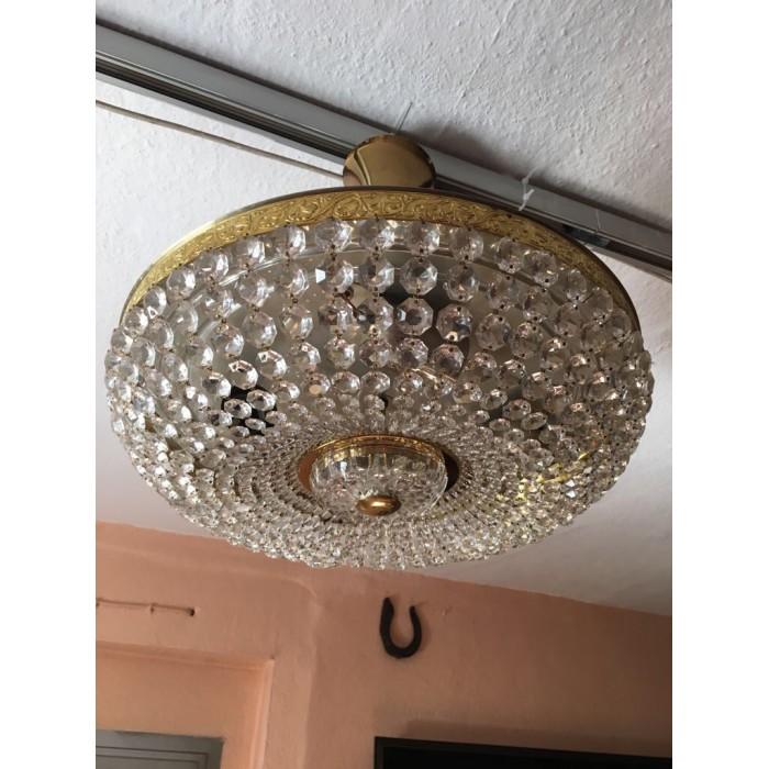 Alte Deckenlampe / Deckenleuchte 60er/70er Jahre