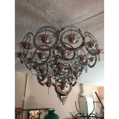 extravagante Lampe Art Deco