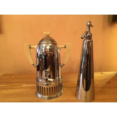 Art Deco Wasserkocher &  Art Deco Wasserdruckbehälter